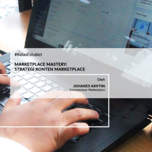 Foto dan caption produk Marketplace